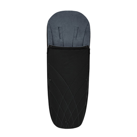 Теплый конверт в коляску Cybex Priam Footmuff Deep Black