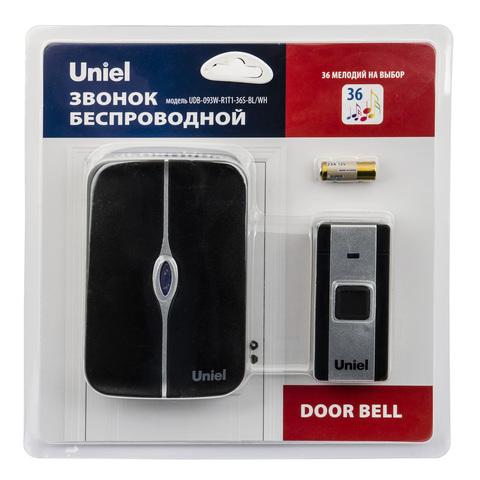 Uniel Звонок UDB-093W-R1T1-36S-BL/WH