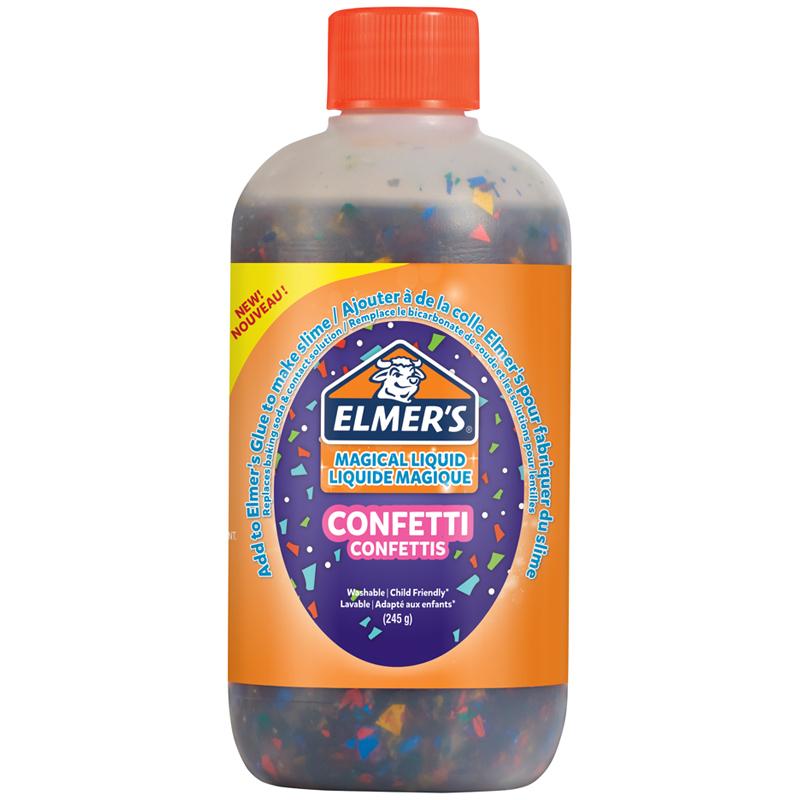 Загуститель активатор для слайма Elmer's Magical Liquid Confetti 259 мл
