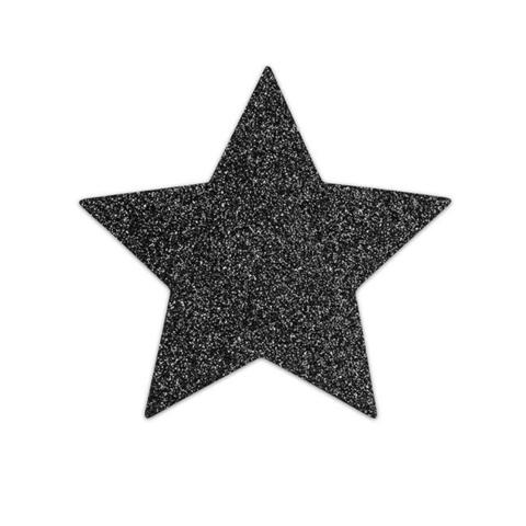 Bijoux Indiscrets Украшение на грудь Flash Star черное