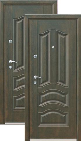 Дверь входная Кайзер Голден Грин, 2 замка, 1,5 мм  металл, (бархатный трансфер 4D+бархатный трансфер 4D)