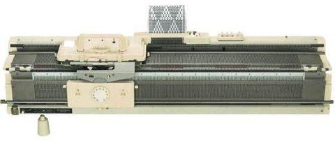 Silver Reed SK-280\60N вязальная машина 2-х фонтурная 5 класс ПЕРФОКАРТОЧНАЯ МРЦ комплект