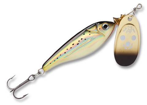 Блесна Blue Fox Minnow Super Vibrax №4, цвет G, арт. BFMSV4-G