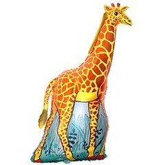 F Мини-фигура Жираф (оранжевый), 14