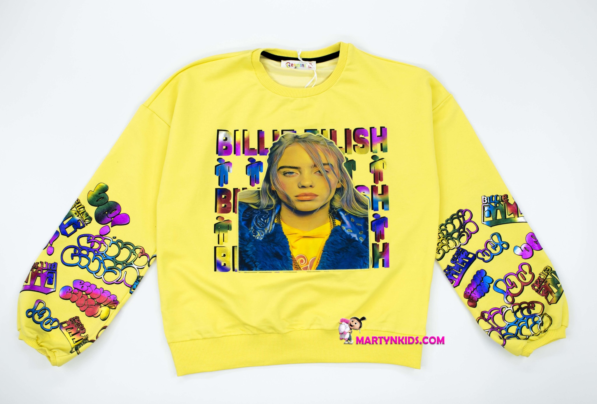 2738 свитшот BILLIE EILISH