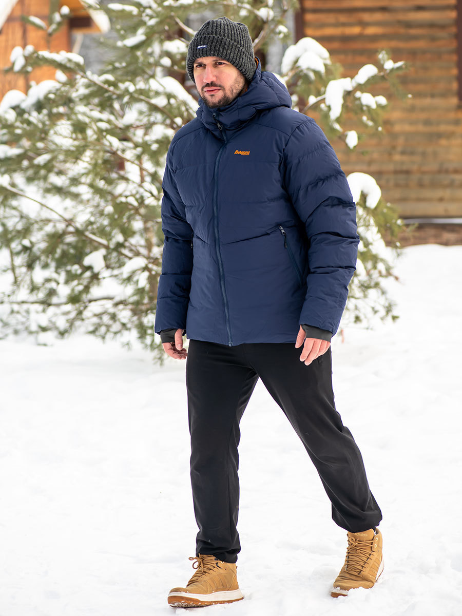 Bergans пуховик 7670 Roros Down Jacket Navy