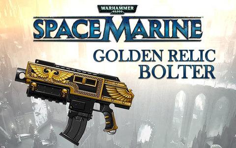 Warhammer 40,000 : Space Marine - Golden Relic Bolter DLC (для ПК, цифровой ключ)