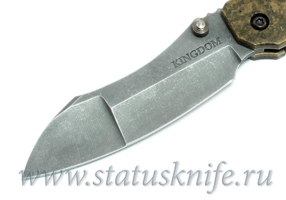 Нож Kingdom Armory - Experimental One Off Folder - фотография
