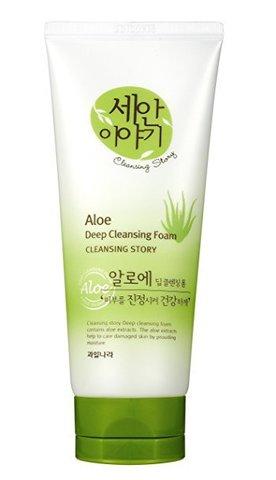 WELCOS Cleansing Story Пенка для умывания Cleansing Story Foam Cleansing (Aloe)120g