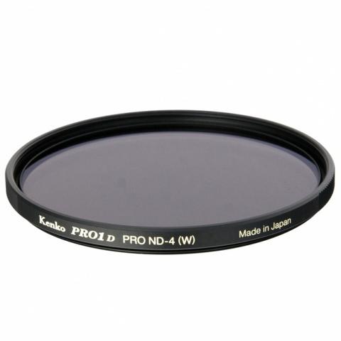 Нейтрально-серый фильтр Kenko Pro 1D ND4 (W) 82mm