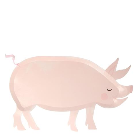 Тарелки Свинка