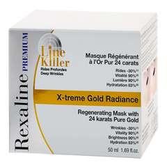 Rexaline Омолаживающая маска для лица с частицами золота 24K PREMIUM LINE-KILLER X-Treme Gold Radiance Mask