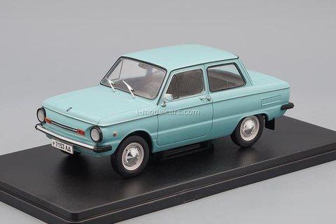 ZAZ-968M Zaporozhets turquoise 1:24 Legendary Soviet cars Hachette #52