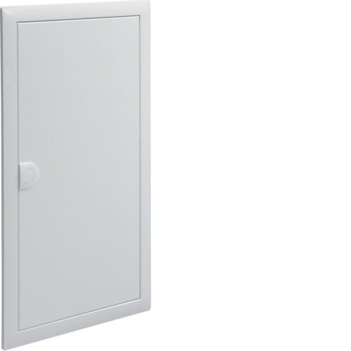 Наружная рамка с дверцей,Volta,3-рядный RAL9010
