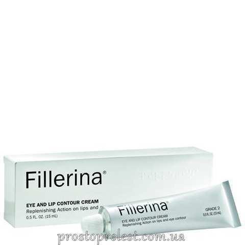 Fillerina Eye And Lip Contour Cream Grade 2 - Крем для контура глаз и губ, уровень 2