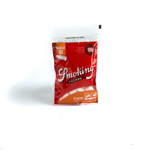 Фильтры для самокруток SMOKING REGULAR CLASSIC 100 шт