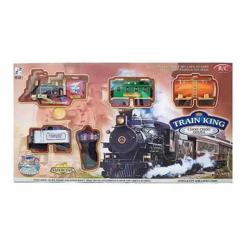 Железная дорога на радиоуправлении со светом и с дымом