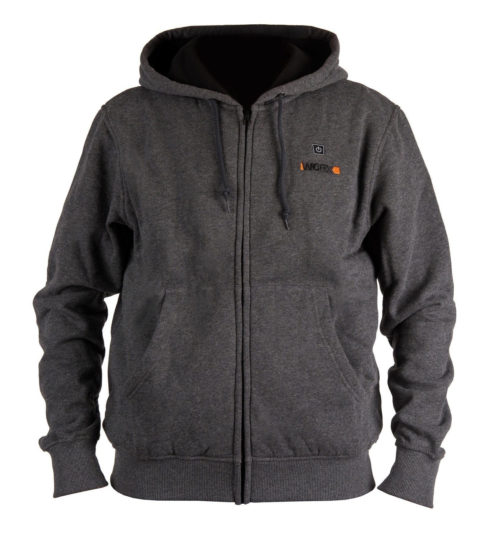 Куртка с подогревом Worx WA4660 2XL темно-серая