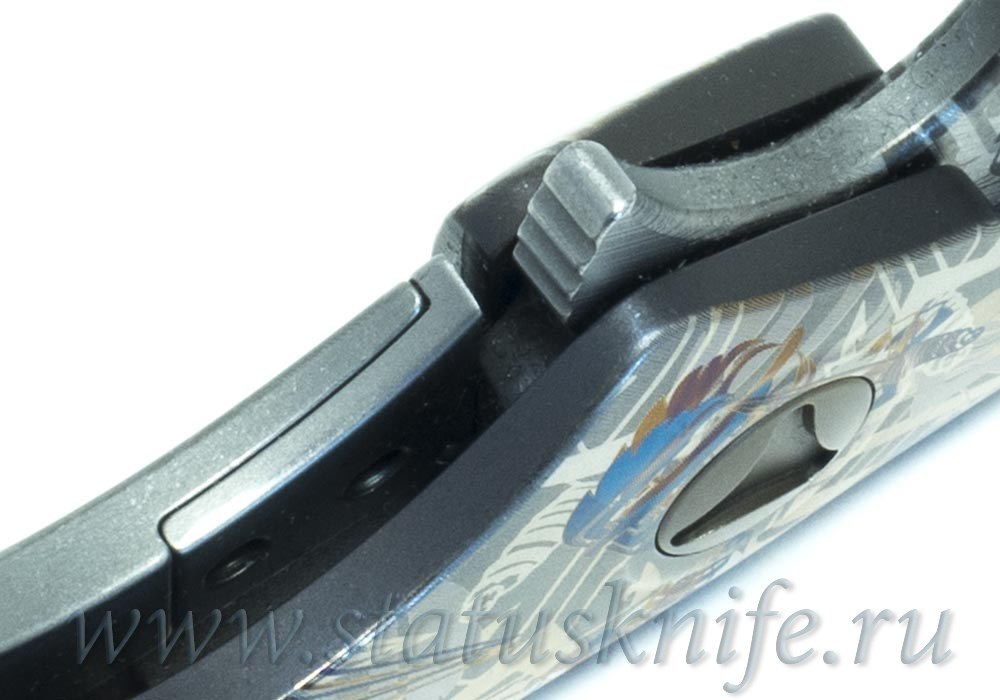 Нож Microtech DOC Custom Dragon Spine One-Off - фотография