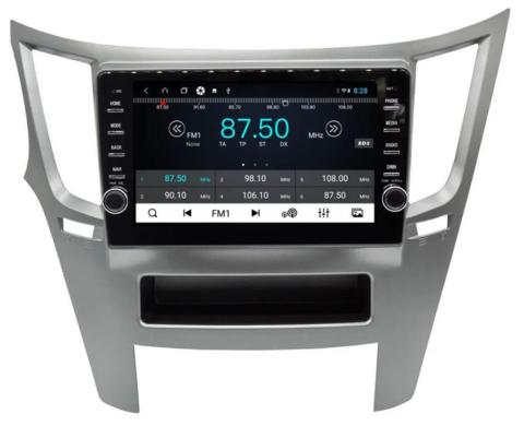 Штатная магнитола для Subaru Legacy/ Outback 2009-2014 Android 10 4/64GB IPS DSP 4G модель CB 1221T9