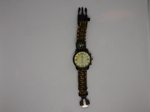 Часы с компасом (паракорд)