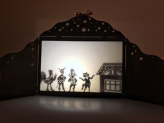 БРЕМЕНСКИЕ МУЗЫКАНТЫ набор фигурок для театра теней