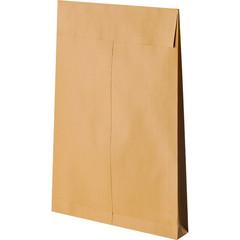 Пакет Bong Gusset E4 из крафт-бумаги с расширением 140 г/кв.м стрип (100 штук в упаковке)