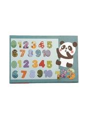 Развивающая головоломка PUZZLE GAMES Животные в цифрах 90 элементов
