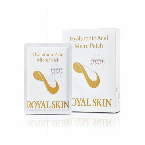 Royal Skin Hyaluronic Acid Micro Patch омолаживающие патчи с микроиглами из гиалуроновой кислоты