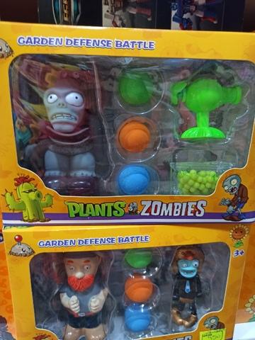 Набор Растения против Зомби 4 шт