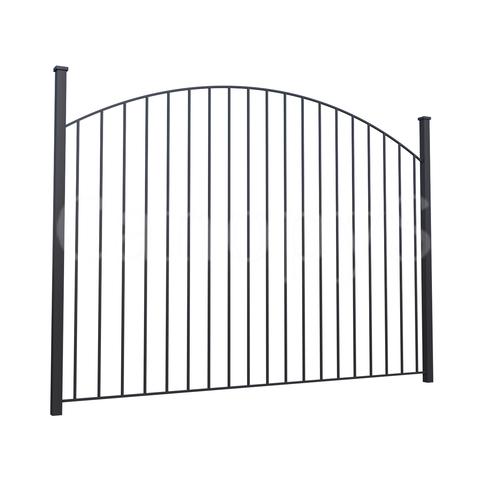 Овальный забор