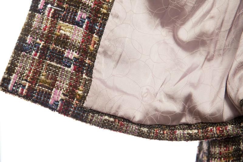 Стильный жакет из многоцветного твида от Chanel, 42размер