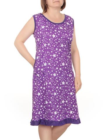 42884-10 Сарафан женский фиолетовый