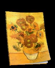 Блокнот Ван Гог. Подсолнухи