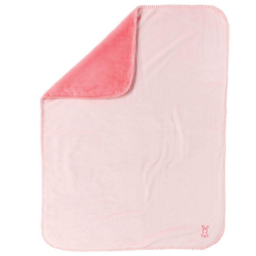 Покрывало 75х100 см Nattou Supersoft Lapidou Кролик розовый