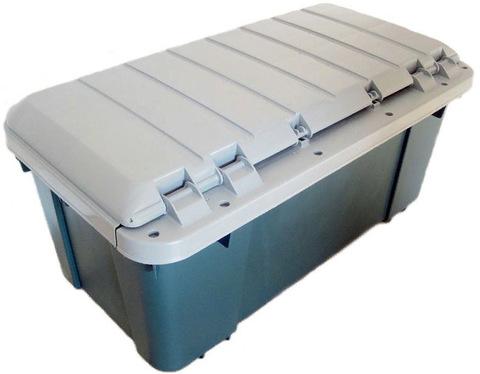 Экспедиционный ящик IRIS RV Box Car Trunk 85, вид сзади.