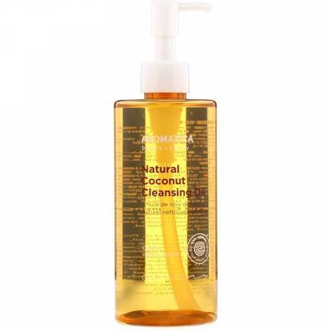 AROMATICA Гидрофильное масло с кокосом Natural Coconut Cleansing Oil 300ML