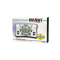 Rimba - Электростимулятор двухканальный с ЖК дисплеем Electro Powerbox Set With LCD Display