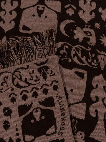 Таёжные Тропы – бурые тона № 4.2 (С бахромой)