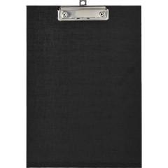 Папка-планшет Attache A4 картонная черная без крышки