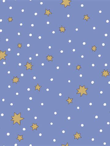 Наволочка 2шт  -Зимние звезды- 50х70 см на молнии