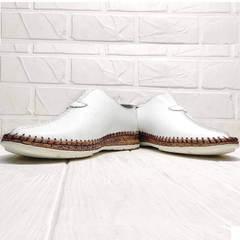 Эспадрильи мокасины мужские лето кэжуал стиль Luciano Bellini 91724-S-304 All White.