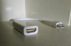 Mini DisplayPort – HDMI (со звуком) переходник адаптер кабель