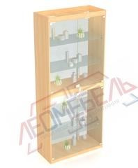 В-306-С Витрина стеклянная задняя стенка стекло