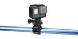 Крепление-липучка SP Velcro Mount с камерой вид спереди