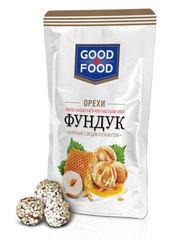 GOOD FOOD Фундук жареный с мёдом и кунжутом 130 г