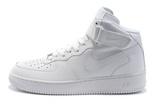 Мужские Кроссовки Nike Air Force Mid White