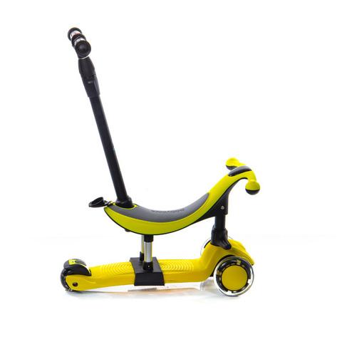 Трехколесный самокат-беговел Scooter Micar Dino