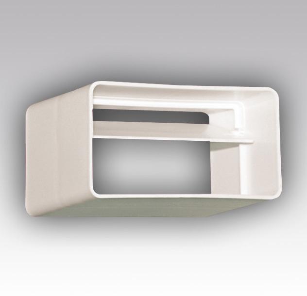 204х60 мм. Прямоугольное сечение Соединитель-муфта с обратным клапаном 204х60 мм пластиковый 55281a3e4d04f851cc4d0f05ba1d736e.jpg