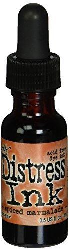 Чернила для заправки  Distress Ink Ranger - spiced marmalade